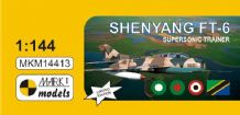 MKM-14413 1/144 Shenyang FT-6 Supersonic Trainer (4x camo)